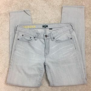 J. Crew factory Toothpick in light gray- 28
